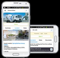 MA CMMS Mobile Screenshots