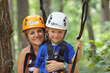 aerial adventure park at ZIPStream Fall Creek Falls caters to families with children as young as 4 years.