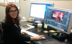 With campuses in Emeryville and San Jose, CA, Ex'pression College teaches and grants Bachelor degrees in Animation & Visual Effects, Digital Filmmaking, Game Art & Design, Graphic Design & Motion, Interactive Audio, and Sound Arts.