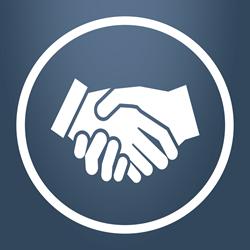 Get You Later - Handshake Logo