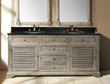 "Savannah 72"" Double Bathroom Vanity In Driftwood From James Martin Furniture 238-104-5711"