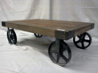 Iron Wheel Coffee Table 111-42 From Classic Design