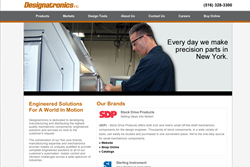 New Wesite from Designatronics Inc.