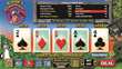 Cagey Cajun Poker - Main Screen