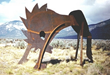 Monumental Metal Sculpture by Gray Mercer