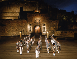 Citadel Regimental Band and Pipes at the Royal Edinburgh Military Tattoo