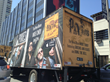 TSN trucks promoting the Pixies on the Sunset Strip