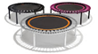 Jumping on a bellicon Mini-Trampoline Has Benefits Taken from Outer...