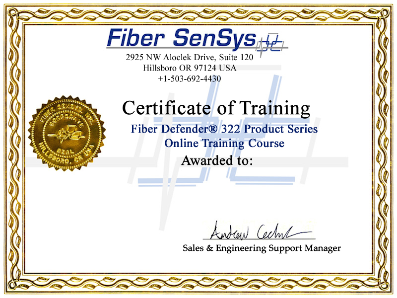 Fiber SenSys, Inc. (FSI) Offers FD322 Perimeter Security ...