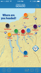 Finger Lakes GO & DO iPhone app