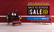 Back to School Sale. 25% OFF on All Piano Memebrships