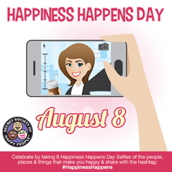 Happiness Happens Day 2014