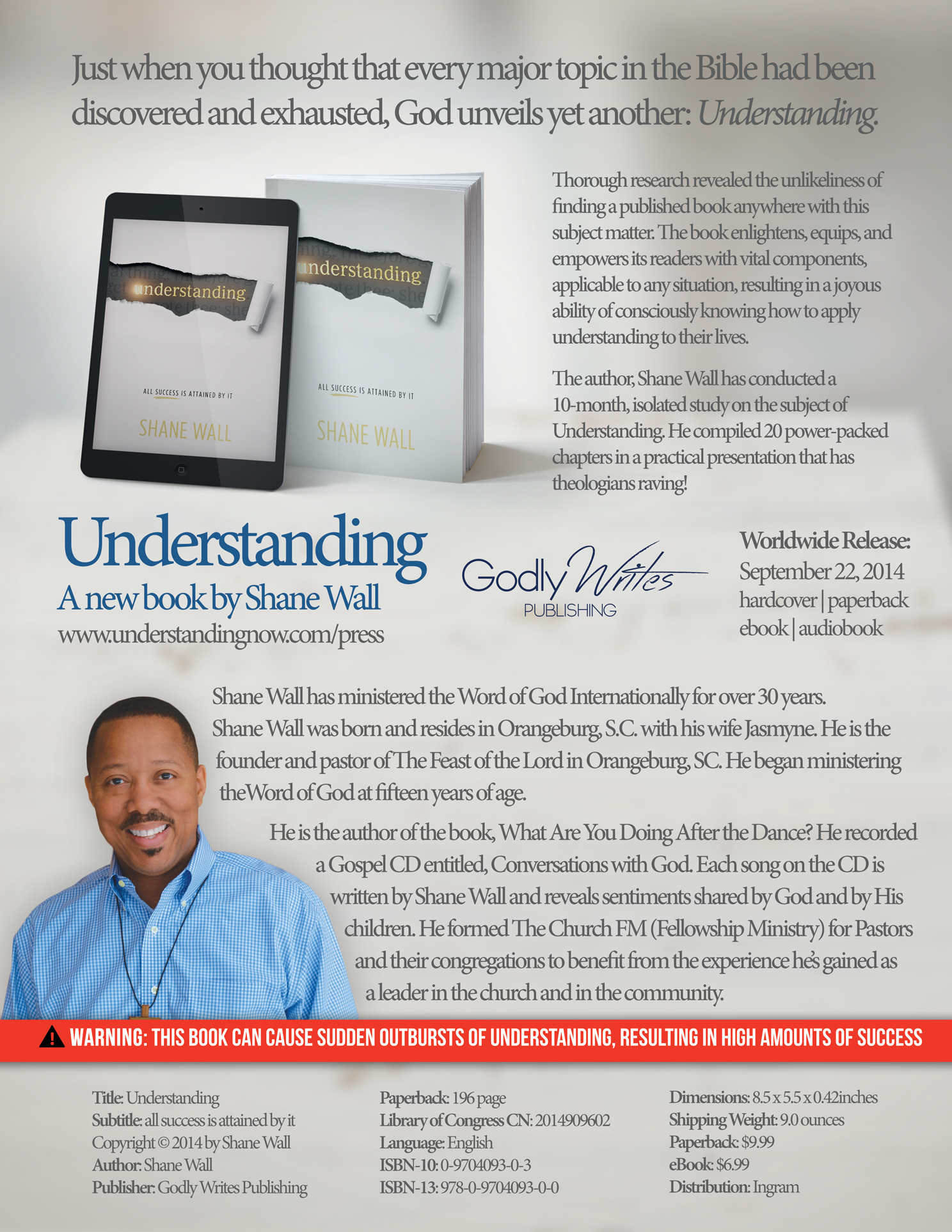 an understanding of success Understanding: all success is attained by it [shane wall] on amazoncom free shipping on qualifying offers just when you thought that every major topic in the bible had been discovered and exhausted, god unveils yet another.