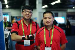 Dr. Tristan RuoLi Dai, CTO and Dr. Haoyang Liu. CEO