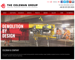 Coleman & Company launch new website