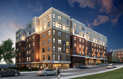 23Twenty Lincoln Exterior Rendering