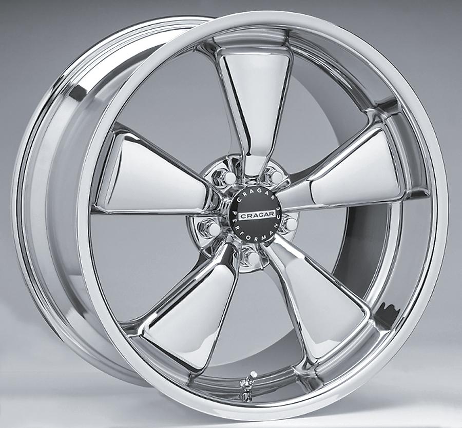 Goodyear Racing Tires >> New at Summit Racing Equipment: Cragar Modern Muscle ...
