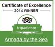 Armada by the Sea Claims Fourth Straight Trip Advisor Honor