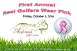 Applewood Golf Course and the Touchstone Golf Foundation to Host: First Annual Real Golfers Wear Pink Golf Tournament, Dinner, and Silent Auction