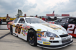 Fox Motorsports' 2014 ARCA racecar, driven by Nick Igdalsky, sits in twelfth position on the grid just prior to start of the ARCA ModSpace 125 at Pocono Raceway on August 1, 2014.