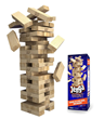 Introducing Jenga® GIANT™--Watch the Thrills Stack Up! All the...