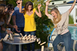Jenga® GIANT™ is perfect for backyard BBQs, birthday and holiday celebrations, college parties, and everywhere people gather together to have fun. Now it's a party! ™