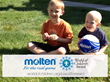 Molten and World of Children Award create partnership