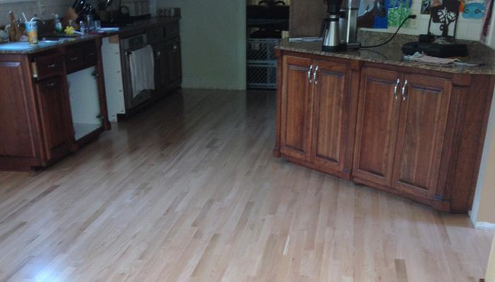 low cost grade wood floor restoration