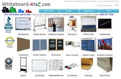 Whiteboard AtoZ School Supplies