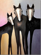 Three WIld Horses by Virginia Maria Romero