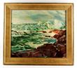 Charles H. Woodbury (American 1864-1940), seascape