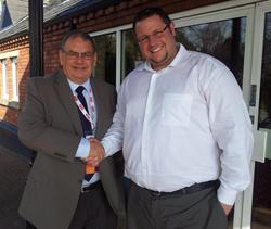 TATOC President Harry Taylor with BuyaTimeshare.com CEO Wes Kogelman
