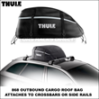 869 Thule Interstate, 868 Outbound Roof Bags Launched by Thule Racks...