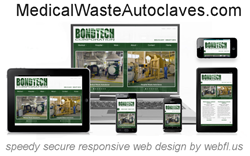 Bondtech Medical Waste Autoclaves & Hospital Sterilizers