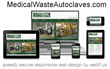 Bondtech Medical Waste Autoclaves Website by WebFL.US Showcases...