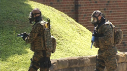 Active Shooter Drill at West Virginia State University
