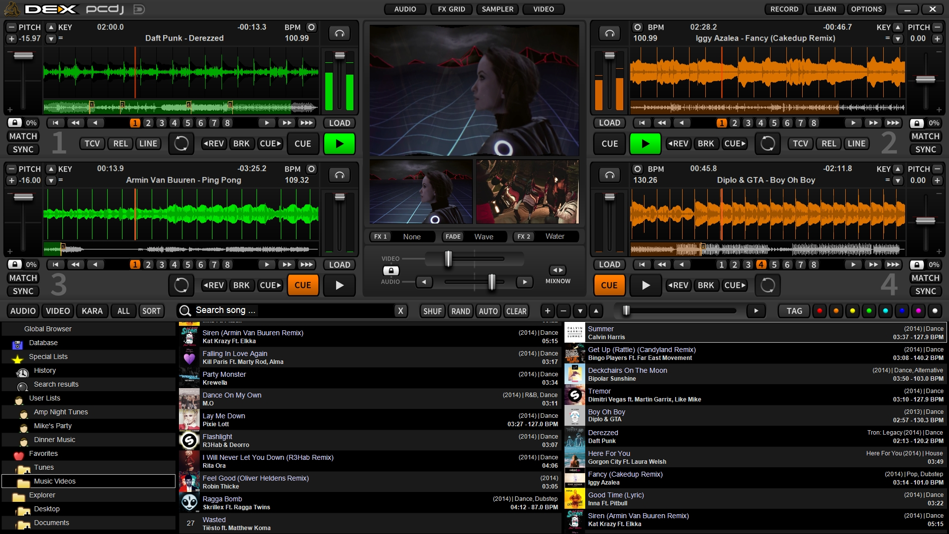 Digital 1 Audio Launches PCDJ DEX 3 DJ Software
