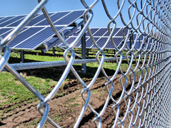 Solar farm Perimeter intrusion detection system