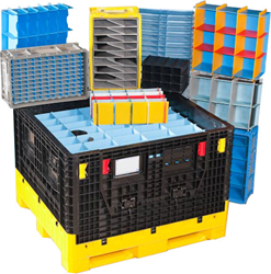 Appliance industry logistics, appliance packaging, returnable packaging for appliances