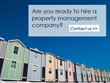 When Landlords Need to Hire a Property Management Company Disclosed in...