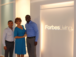 Sirena Teams With Forbes Living Host Forbes Riley