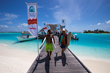 Rasta Beats Sunny in Single-Fin Round at Four Seasons Maldives Surfing...