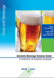 METTLER TOLEDO's new Alcoholic Beverage Solution Guide has been designed to help manufacturers determine how they can streamline critical testing while still ensuring pristine beverage quality.