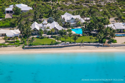 beachfront villa with private pool for sale