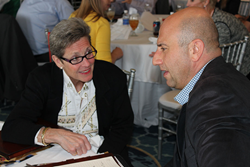 The intimate setting of LAUNCH Renewal Conference allows attendees to have ample time for one-on-one discussion with the LAUNCH expert team -- including John O'Leary.