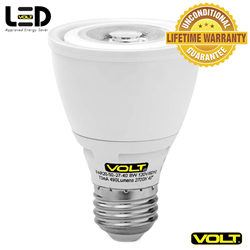 The VOLT® PAR 20 LED Bulb - the most popular LED PAR Bulb replacement - saves up to 85% energy cost.