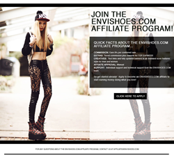 Envi Shoes - Affiliate Program