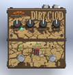 The Dirt Clod Analog Overdrive Distortion Pedal by Decibel Eleven