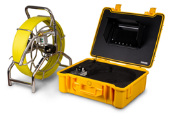 Inspection system for exploring ducts, pipelines, mains and sewers
