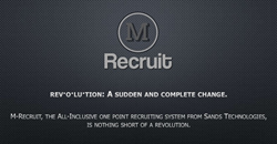 M-Recruit is a ranking tool that uses a powerful algorithm for immediate results. Recruiters can post an application or a skills test from an easy generated tag and get precision feedback on new candidates fast.